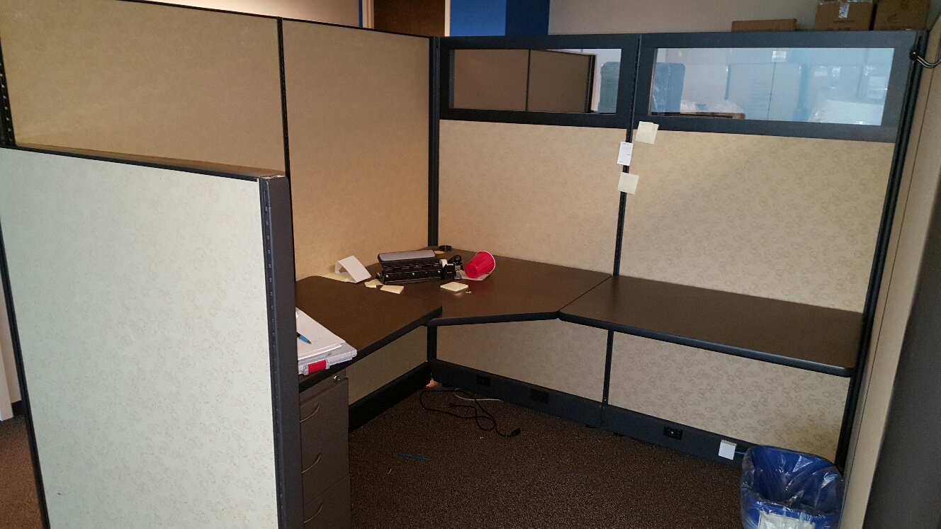Herman Miller Partitions Removal And Recycling